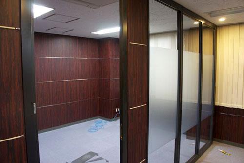 ファーイースト国際特許事務所の日本橋オフィスの工事風景その1