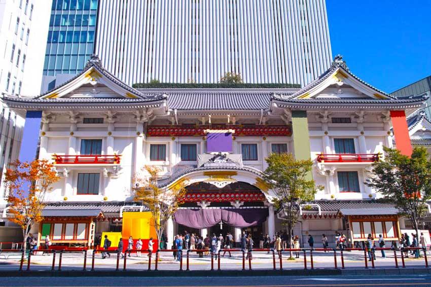 商標の中の歌舞伎
