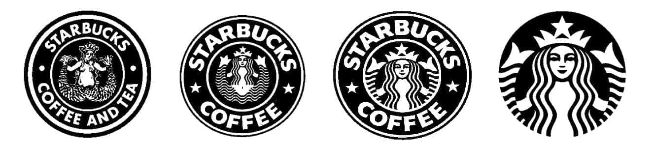 スターバックスのロゴマークの変遷